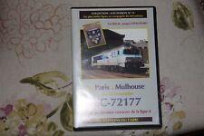 Collection Locovision n°11 de PARIS à MULHOUSE avec la CC-72177 TROYES CHAUMONT