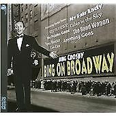 Bing Crosby - Bing On Broadway (2010)  CD  NEW  SPEEDYPOST
