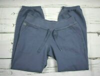 Lacoste logo Sweatpants Mens Size 40 US 30 x 31 Gray Blue Jogger Athletic Lounge
