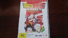 Dragon Ball Z Broly Second Coming Movie 10 DVD Anime DBZ Dragonball