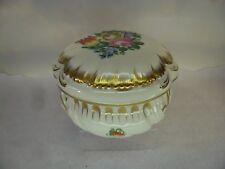 Herend porcelain fiori policromi Ciotola con coperchio