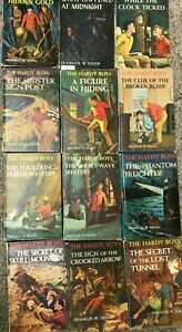 LOT of 13 HARDY BOYS 1st printing in picture cover (1st thus) hardcover books