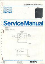 PHILIPS - Hi-Fi MFB-Box 22RH541 - Service Manual Anleitung Schaltbild - H-908