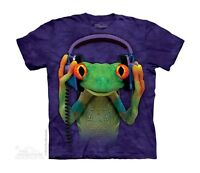 New CELESTIAL FROG DJ Youth T Shirt