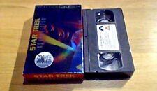Star Trek 9 Insurrection WIDESCREEN Carton UK PAL VHS VIDEO 1999 Patrick Stewart