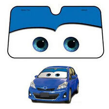 Car Sun Visors Windscreen Front Windshield Sunshade Cartoon Cute Pixar Blue