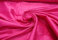 "shantung dupioni, faux silk fabric, 59"" wide, sold by the yard, Fuschia color"