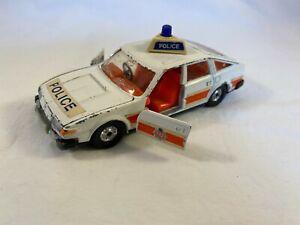 Vintage Corgi Rover 3500 Police Car