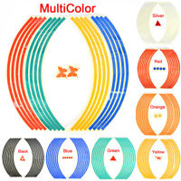 Strips Wheel Stickers And Decals For Reflective Rim Tape Bike Motorcycle Car BH