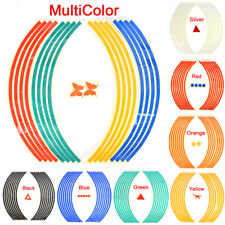 Strips Wheel Stickers And Decals For Reflective Rim Tape Bike Motorcycle CarOdca