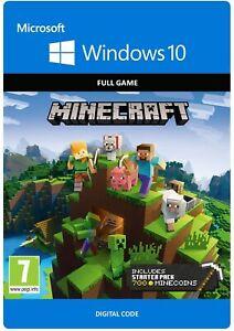 Minecraft Windows 10 Edition Digital Code *READ DESC* LIGHTNING FAST DELIVERY 🚚