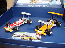 MINT SCALEXTRIC GP LEGENDS TEAM LOTUS TYPE 49 LIMITED EDITION BOX SET C3544A