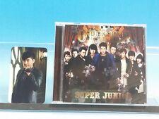 CD+PHOTO CARD Opera Shindong SUPER JUNIOR JAPAN E.L.F Limited
