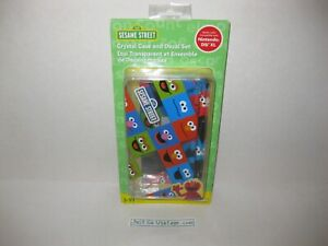 SESAME STREET DreamGear Crystal Case & Decal Set for NINTENDO DSi XL System, NEW