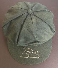 Autographed Cricket Memorabilia Caps & Helmets
