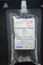 Fractionated Coconut Oil, Natural Carrier - 200ml