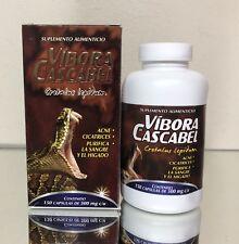Vibora De Cascabel 150 Capsulas Rattlesnake Powder 500 Mg Viperinae Capsules
