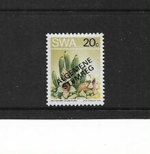 1973 South West Africa - 20c Succulent - With Overprint - Single Stamp - MNH.