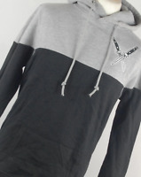 Mystery Clothing Grey Cotton Blend Mens Hoodie Size M