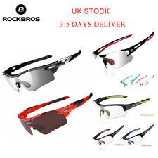 ROCKBROS Cycling Bike Photochromic/Polarized Glasses Sports Sunglasses Goggles