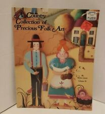 A Country Collection Of Precious Folk Art -Volume 4 - Decorative Tole Painting