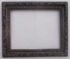Gemälderahmen Louis XIII, schwarz, 17 Jhd.