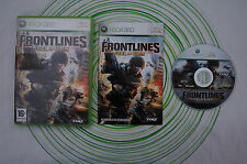 Frontlines fuel of war xbox 360 pal