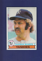 Thurman Munson 1979 TOPPS Baseball #310 (NM+) New York Yankees