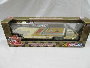 KELLOGG'S TERRY LABONTE GOLD TRANSPORTER SEMI NASCAR DIE CAST SET (NIB) 1/2499