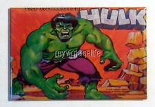 "Vintage The Incredible HULK Lunchbox 2"" x 3"" Fridge MAGNET"
