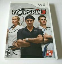 Top Spin 3 (Nintendo Wii, 2008) **COMPLETE** EMBARK ON THE ROAD TO GLORY