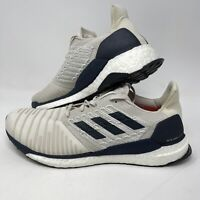 Adidas Solar Boost Casual Running Navy Cream Men's Size 12.5 D97435