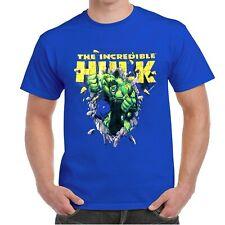 The Incredible Hulk Marvel T'Shirt Men's New