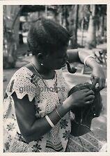 MOYEN-CONGO c. 1940 - Environs Brazzaville Coiffure - PA26
