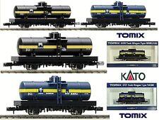 Kato by TOMIX train marchandises N.2 wagons citerne Essence Pétrole et Dérivés