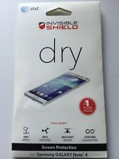 Zagg Invisible Shield Dry Screen for Samsung Galaxy Note 4 Full Budy NEW