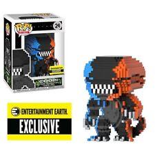 Funko Alien Video Game Deco 8-Bit Pop! Figure - EE Exclusive Orange and Blue