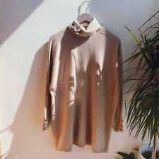 Ted Baker Soft Oversized Fit Nude Coloured Jumper Size Small