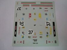 "FERRARI 365 GTB4 DAYTONA 24h LM 73 ""NART"" 1/43 DECALS NEW"
