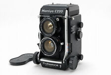 Near  Mint Mamiya C220  PROFESSIONAL f  TLR Film Camera w / 55mm lens From Japan