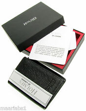 MENS BLACK REAL LEATHER TRIFOLD WALLET CREDIT CARD HOLDER GIFT BOX UK NEW BL210