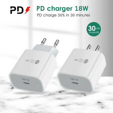 18W PD Fast Charge USB-C Wall Charger Power Adapter For iPhone 12 Pro Max 11
