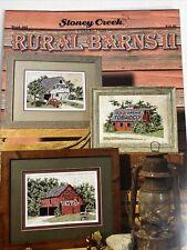 Stoney Creek Rural Barns II  Cross Stitch Pattern Book 482