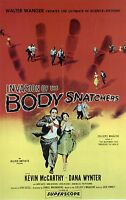 Invasion of the Body Snatchers - Kevin McCarthy - A4 Laminated Mini Movie Poster