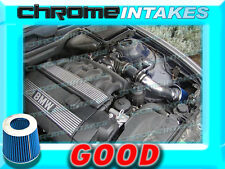 BLACK BLUE 99 00 01 02 03 04 05 BMW 325i 325/328i 328/330i 330 i E46 AIR INTAKE