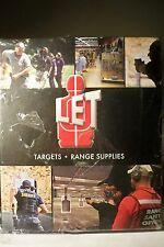 Let Law Enforcement Targets 2013 hardcover catalog new