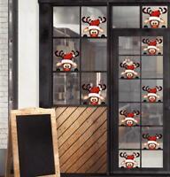 x2 Rudolph Vinyl Sticker - Wall Art - Christmas - Stickers - Window room