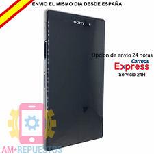 Pantalla  ORIGINAL Sony Xperia Z1 L39h LCD Tactil CON MARCO NEGRA Jack auricular
