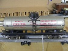 Marx 3/16th 0 Gauge NIACET Tank Car     #6
