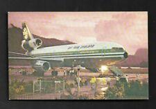 Postcard Air New Zealand Dc-10 Airplane *4951